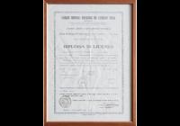 Diploma 1945